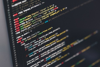 js and css are coding in the background
