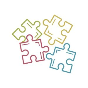 wordpress is like fittin pieces of a jigsaw together
